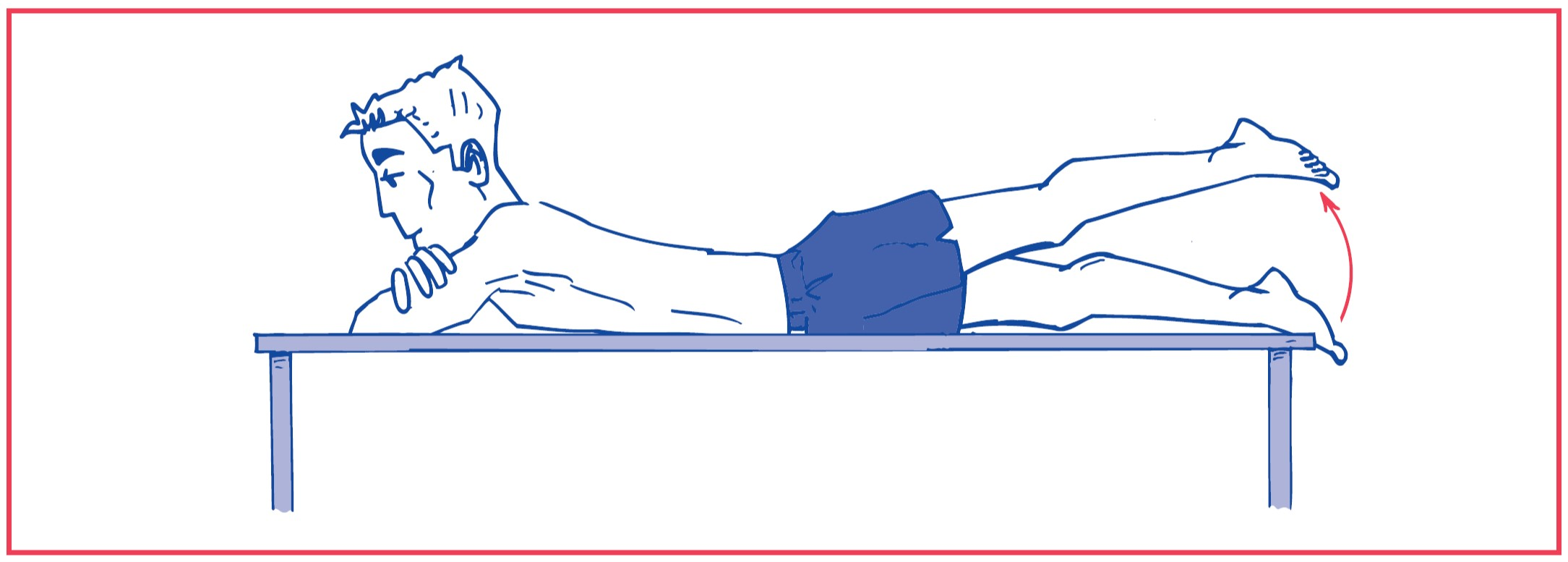 1. Free hip extension