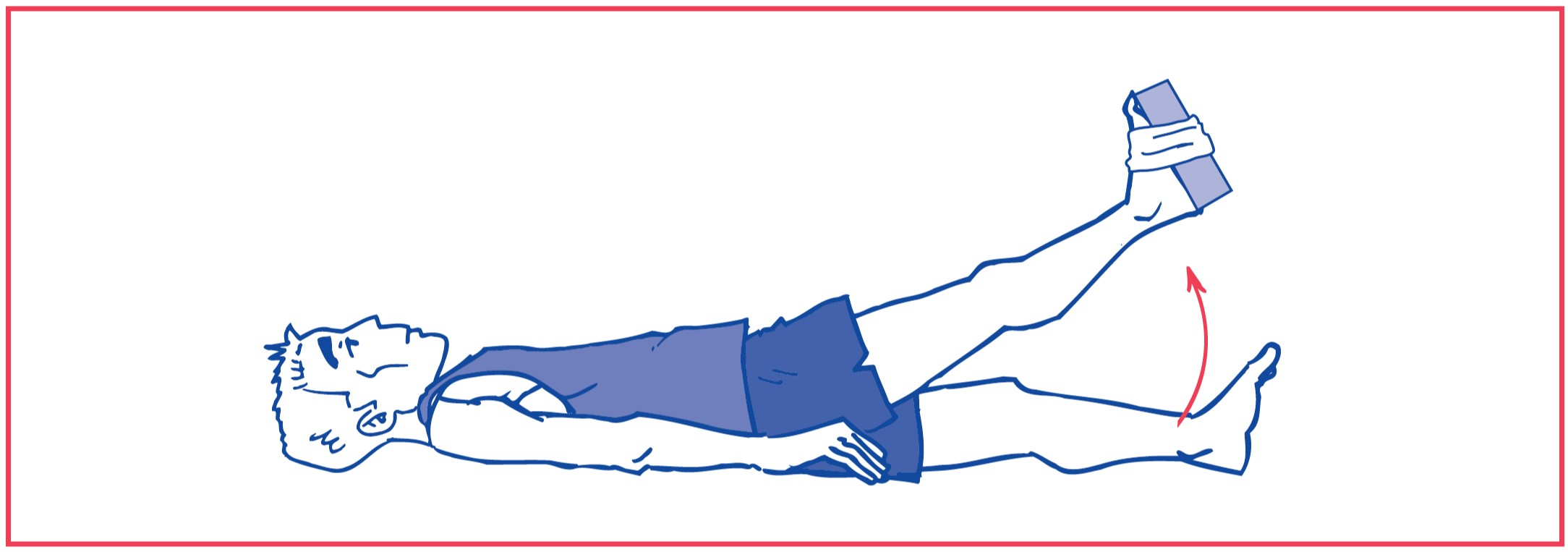 5. Hip flexion against resistance (weights)