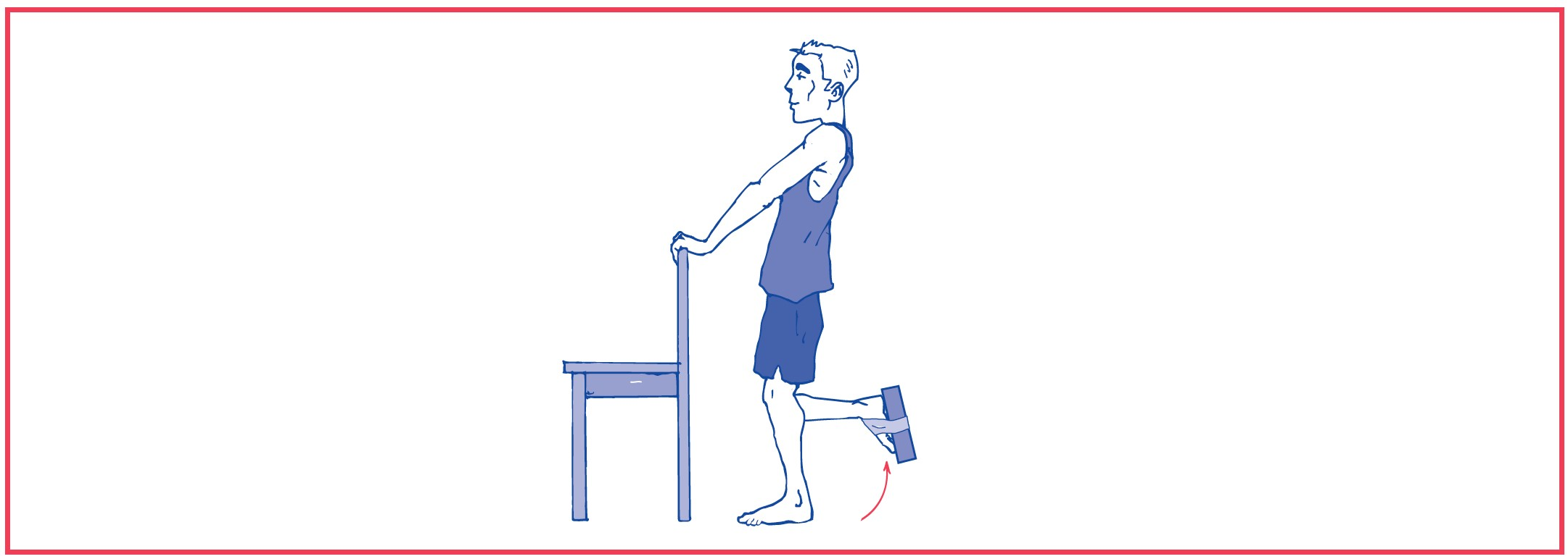 3. Knee flexion against resistance (weights)