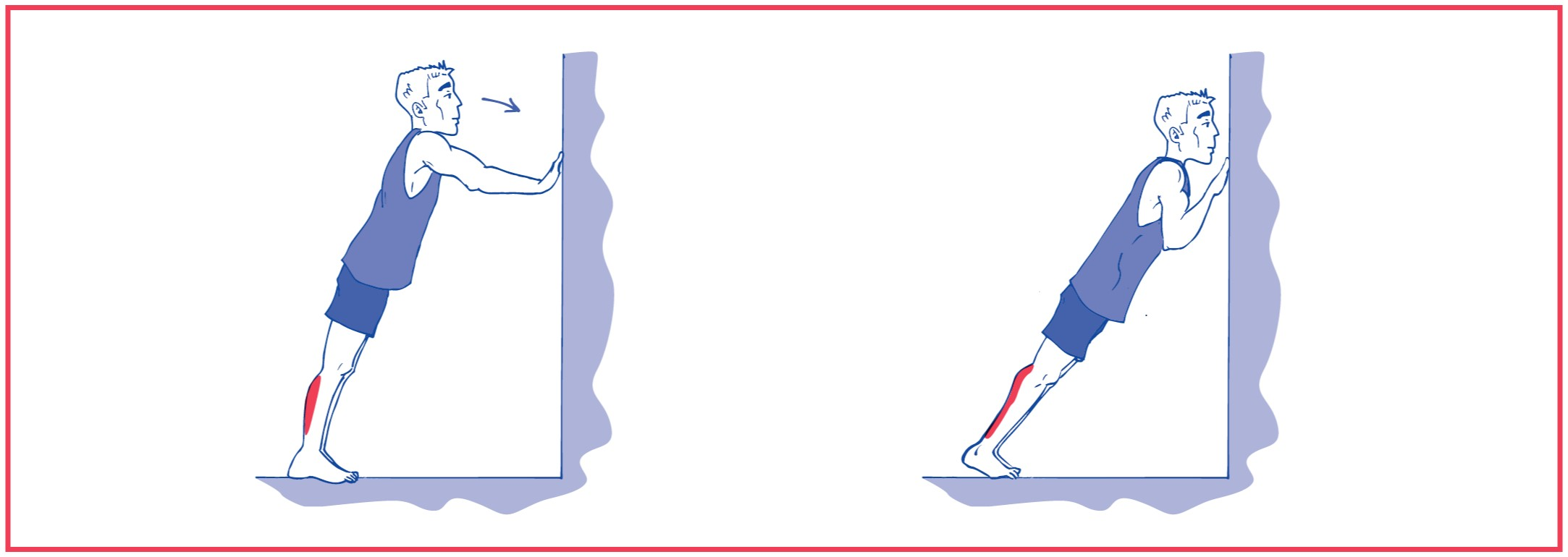 7. Stretching exercise for calf muscle #2