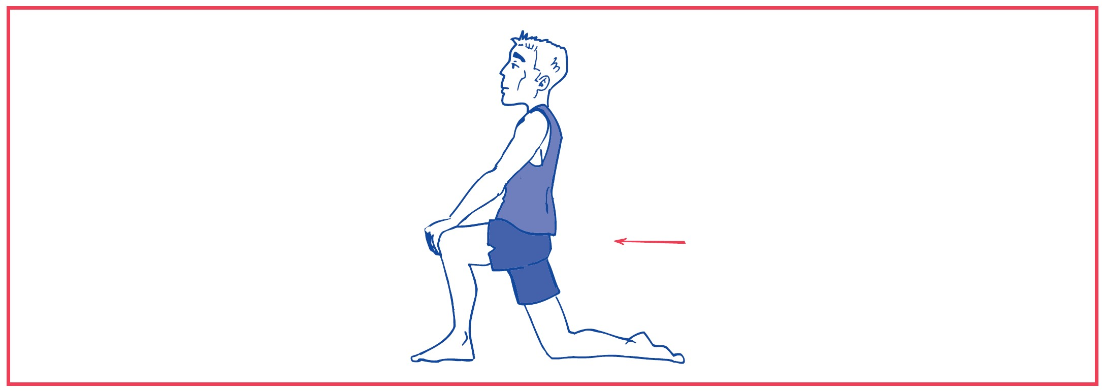 3. Stretching ilio-psoas muscle