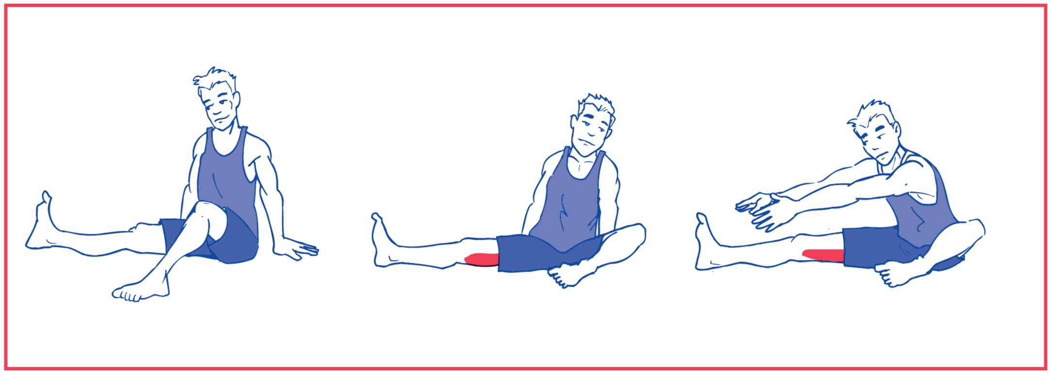 4. Stretching of hamstring muscle