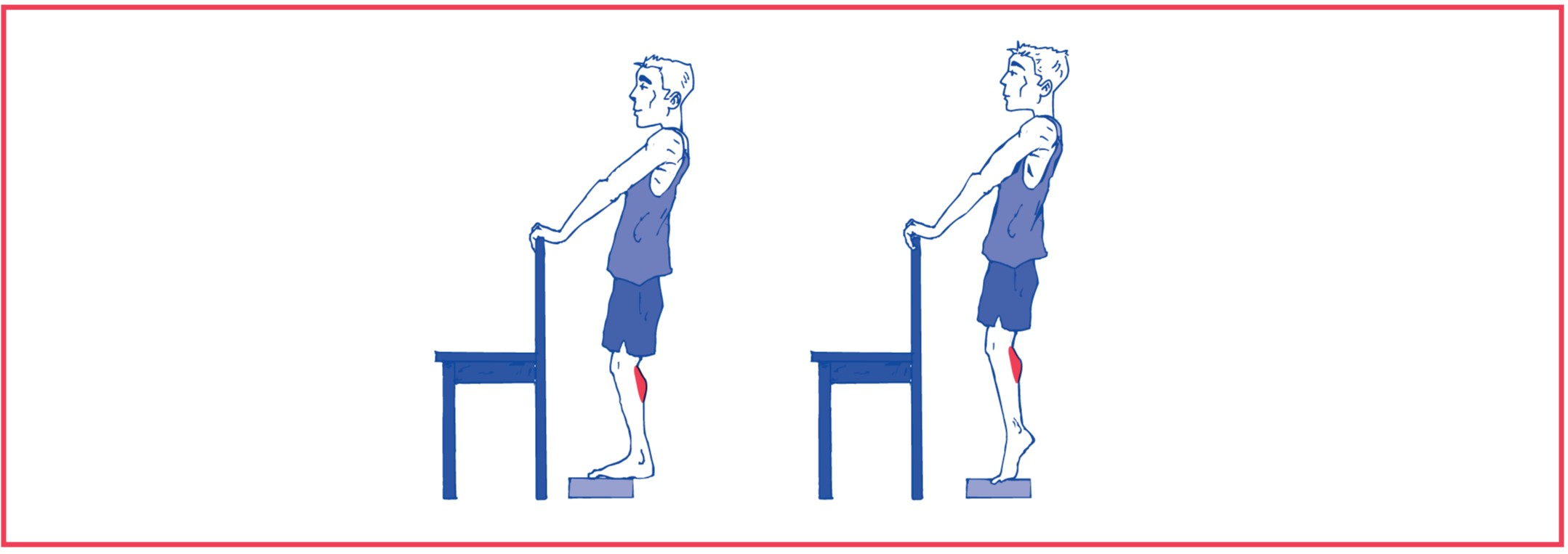 5. Weight bearing exercise for calf muscles